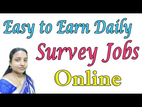 Easy to Earn Money Daily New Online Survey Jobs in Tamil