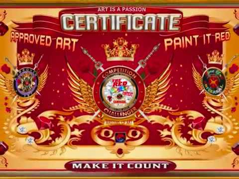 PAINT IT RED - FINE ART UNIVERSAL