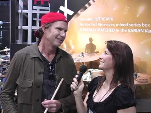 Frankie DiVita interviews Chad Smith at NAMM 2012