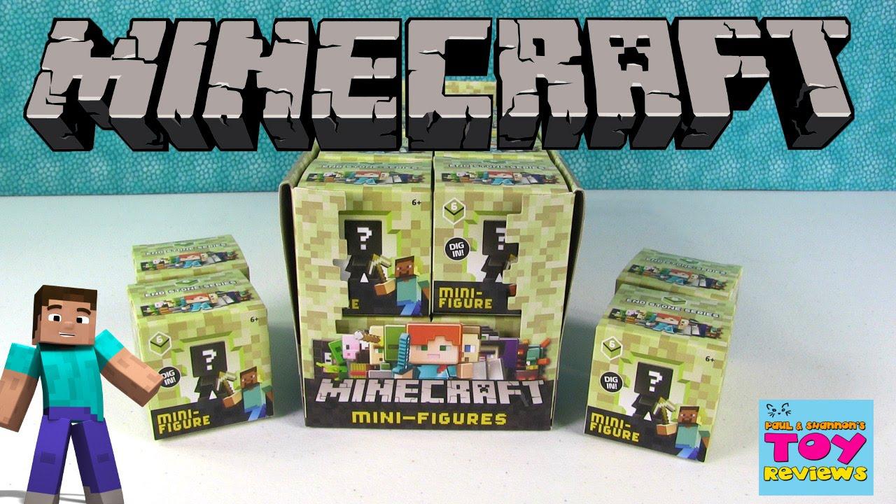 Minecraft Series 6 End Stone Full Set Blind Box Bag