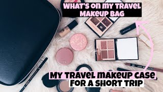 WHAT´S ON MY TRAVEL MAKEUP BAG: WHAT I TAKE WITH ME ON SHORT TRIPS