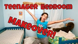 🏡🎨TEENAGER BED ROOM MAKEOVER