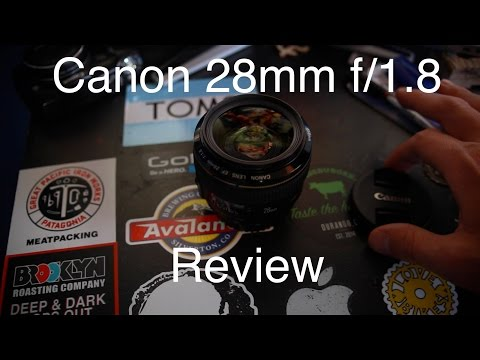 Canon 28mm f/1.8 Wedding Photography Review