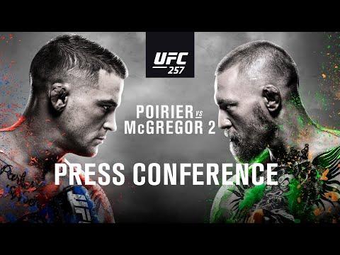 UFC 257: Pre-fight Press Conference