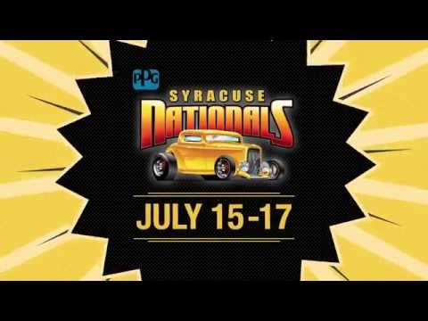 Syracuse Nationals 2016 - July 15-17! (TV Commercial)