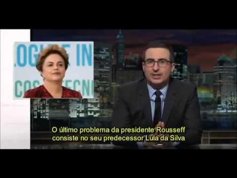 Last Week Tonight com John Oliver Impeachment da Dilma e protestos  LEGENDADO