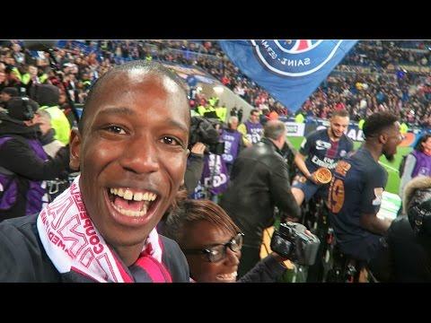 CHAMPION MON FRERE ! VLOG AS MONACO vs PSG FINALE COUPE DE LA LIGUE