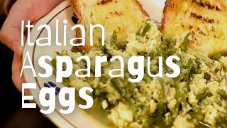 Asparagus 'Stracciatella' Recipe