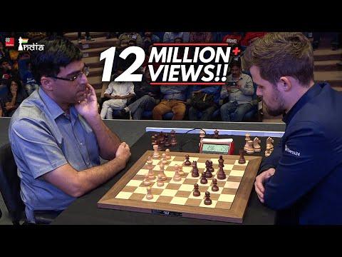 Vishy Anand vs Magnus Carlsen | Tata Steel Chess India Blitz 2019