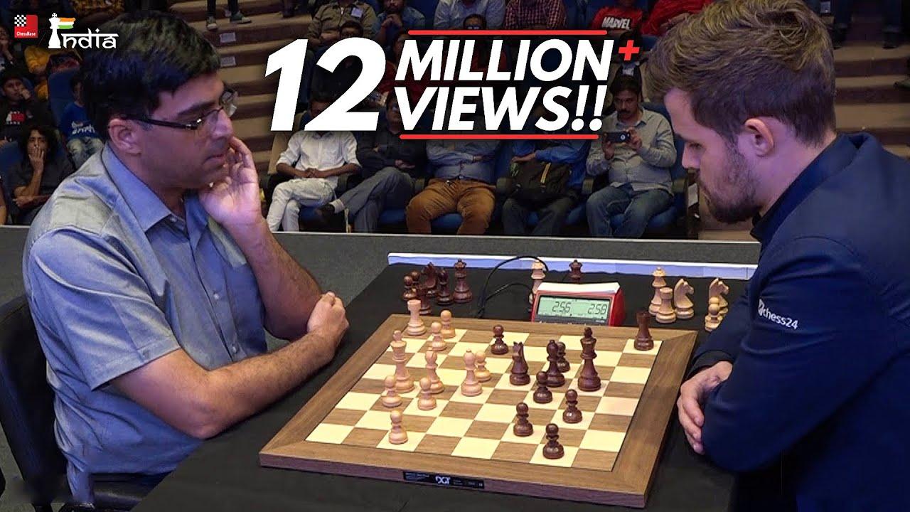 Download Vishy Anand vs Magnus Carlsen | Tata Steel Chess India Blitz 2019