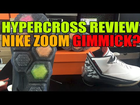 Nike Hyper Cross Trainer Review: Hexagon Zoom Gimmick? YouTube
