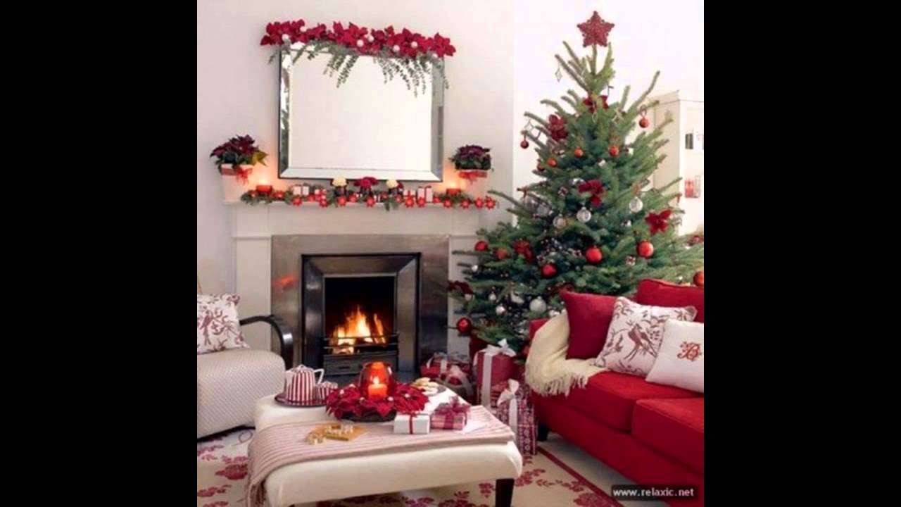 At home christmas party decorating ideas youtube for Home christmas decorations ideas