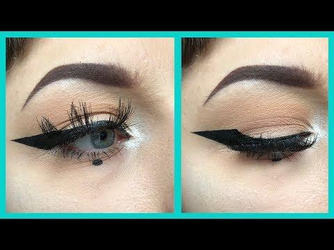 Eyeliner For Semi Hooded Eyes | Tips and Tricks