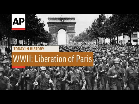 WWII: Liberation Of Paris - 1944 | Today In History | 25 Aug 16