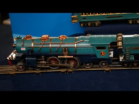 Lionel Blue Comet Train, ca. 1935 | Special: Treasures on the Move Preview