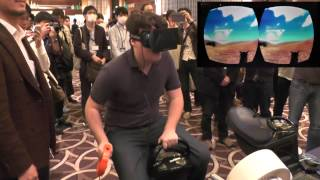 Mr. Palmer Luckey meets HASHILUS!!