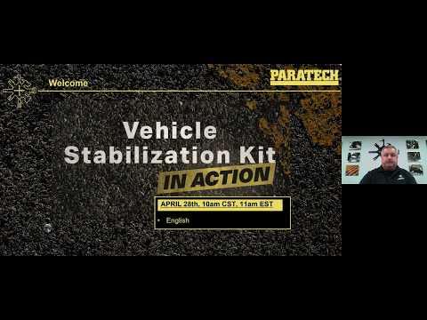 Webinar - Vehicle Stabilization Kit - Paratech