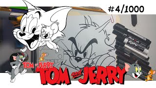 Como dibujar a Tom y Jerry | How to draw Tom and Jerry