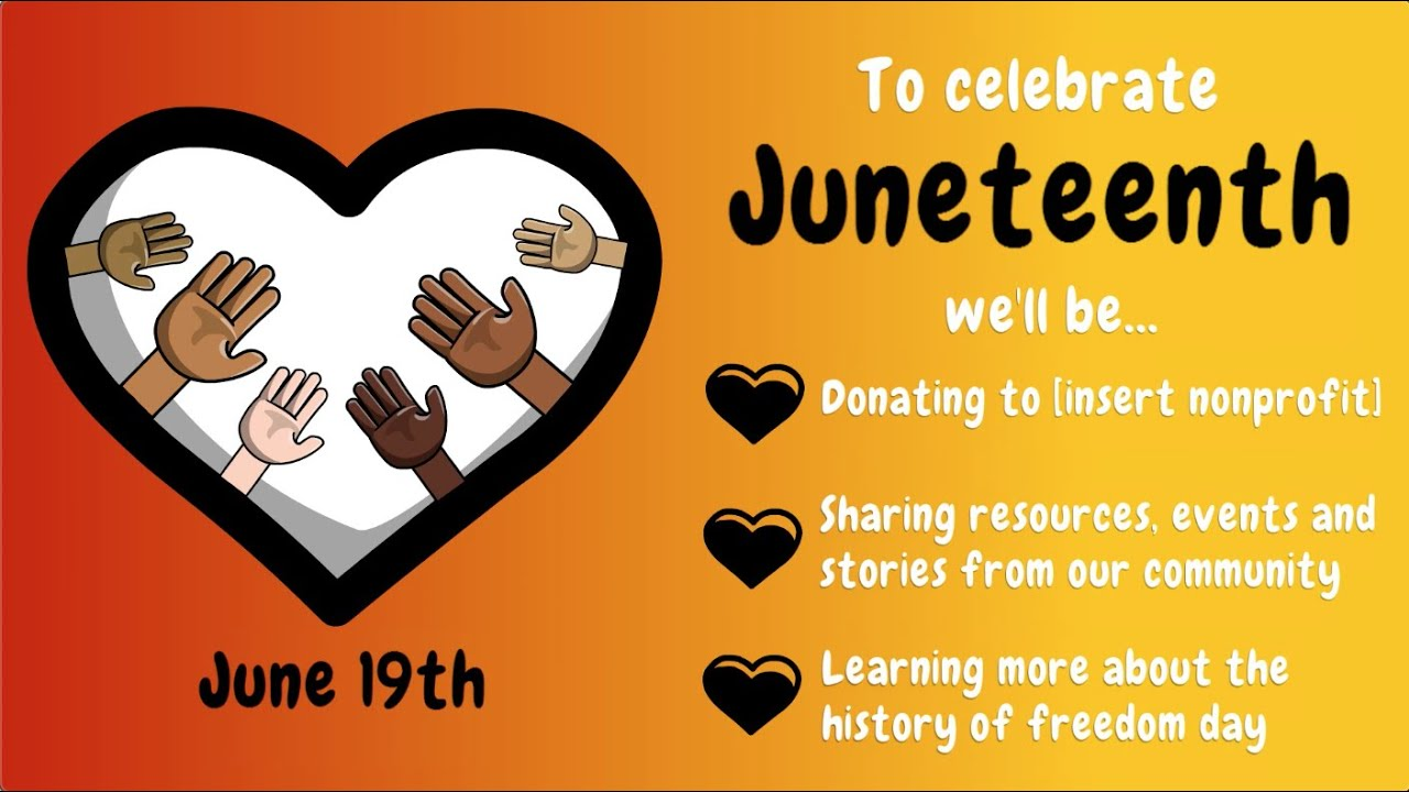 Celebrate Juneteenth With Eye Catching Animated Videos