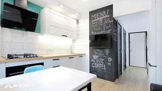 Обзор  ремонта на кухне в панельном доме. Советы по ремонту. Ошибки
