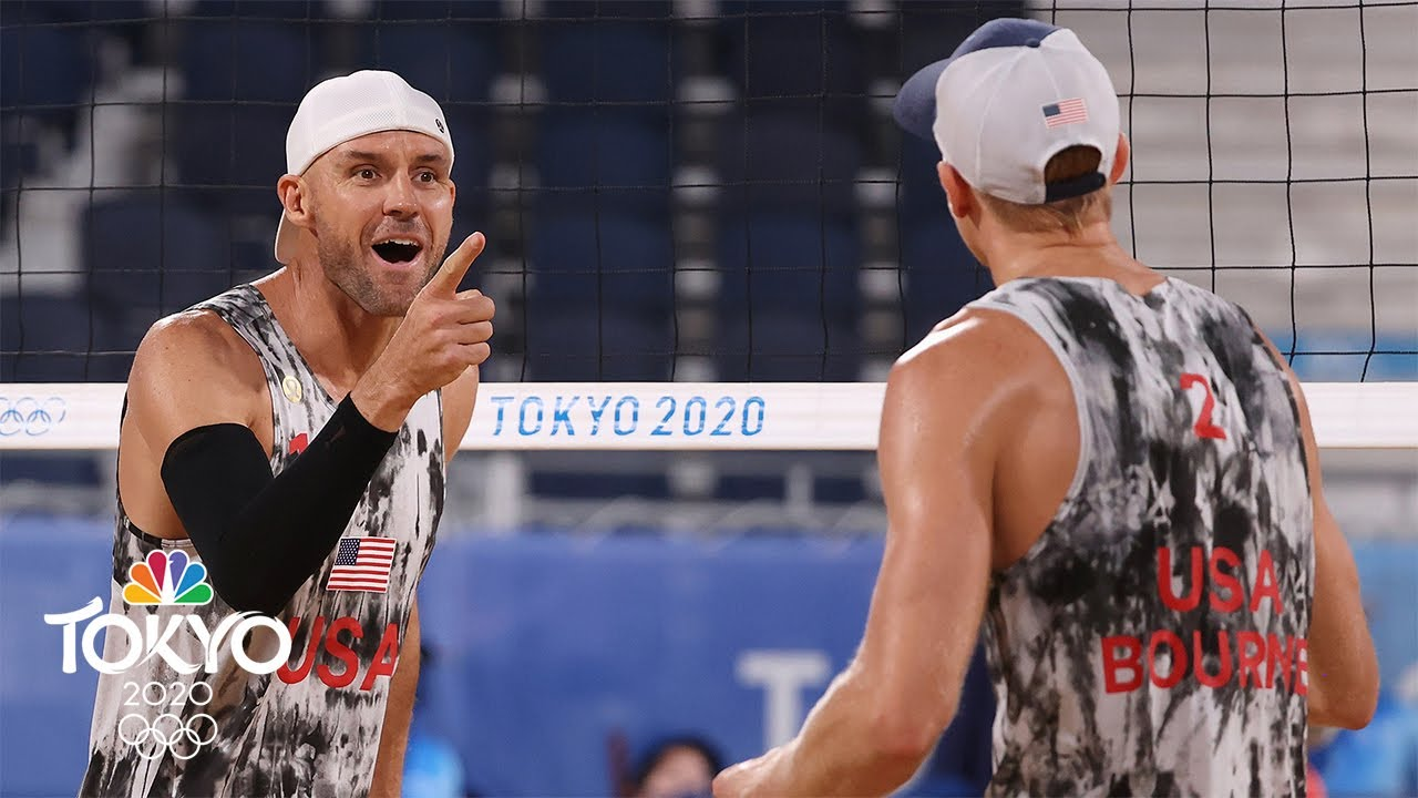 Download USA vs. Italy   Tokyo Olympics 2020: Men's Beach Volleyball Highlights   NBC Sports