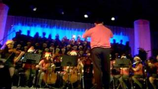 Cantata de Navidad 2011 parte: 2/2. British School, Punta Arenas