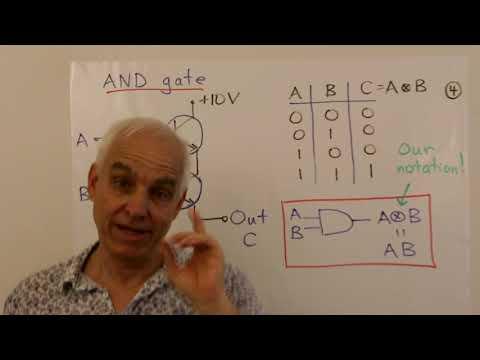 Transistors, Logic Gates And Boolean Algebra | Math Foundations 261 | N J Wildberger