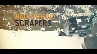 National Floor Equipment Walk Behind Scrapers