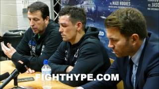 ANTHONY CROLLA DESCRIBES JORGE LINARES' POWER IN KNOCKDOWN; REFLECTS ON LOSS & TALKS FUTURE PLANS