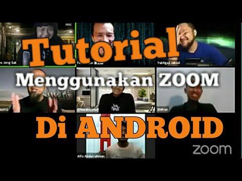 Cara Menggunakan Zoom Meeting di Android | Cinta Qur'an ...