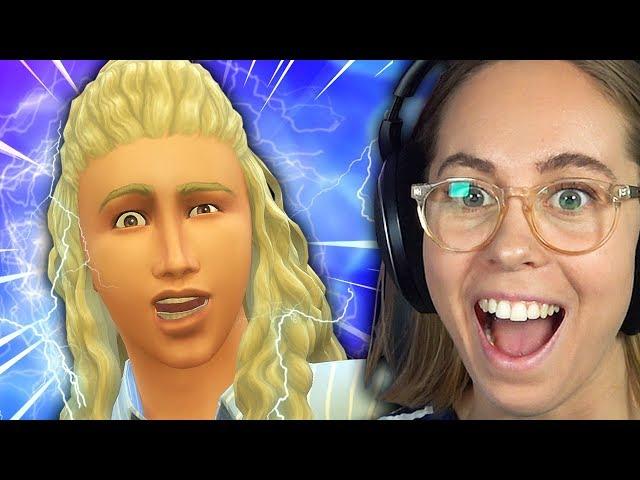 ÅSKGUDEN THOR? (100 BABY CHALLENGE) | The Sims 4 med Anna #10