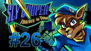 Sly Cooper: Thieves in Time Walkthrough / Gameplay w/ SSoHPKC Part 26 - Wheelchair Platforming