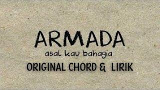 ARMADA  -  ASAL KAU BAHAGIA (original chord gitar &  lirik)
