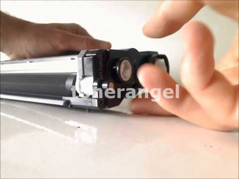 How to refill and reset the Brother TN-2260 TN-2280 Toner cartridge