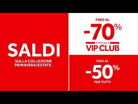 Saldi fino al -50%/-70% VIP<br><br>