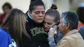 Students return to Oregon college after deadly shooting