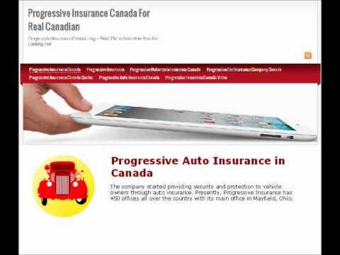 Progressive Auto Insurance in Canada
