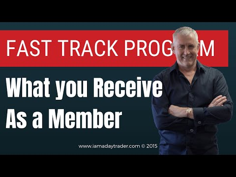 What you receive as a member of The Day Traders Fast Track Program