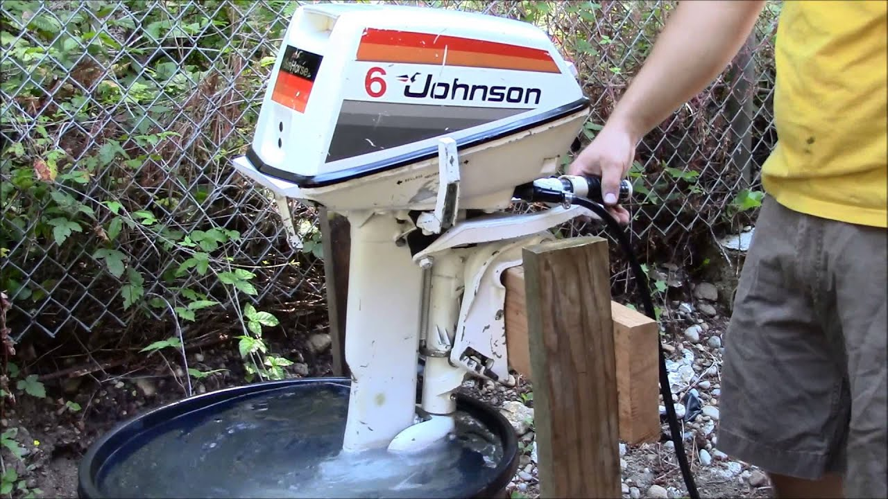 1978 6hp johnson seahorse youtube for 4 horse boat motor