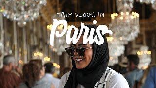 PARIS DAY 3   أبلة تيم في القصر والحديقة : حرام ماتشوفون هالفيديو
