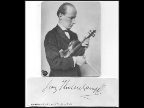 Georg Kulenkampff - Brahms Violin Concerto, 1rst mvt