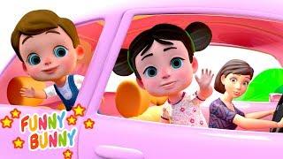 Chanson Nous sommes dans la voiture - À Bébé Chanson   We are in the car Song - Nursery Rhyme