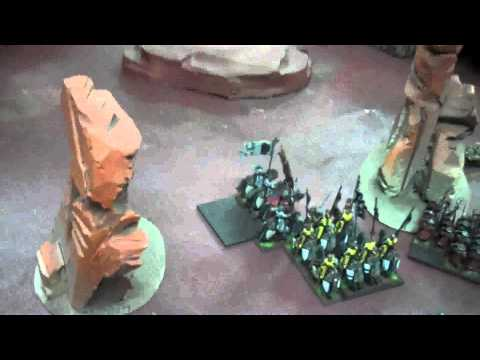 Bretonnians vs Vampire Counts 05 Warhammer Fantasy Battle Report