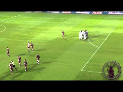 Saprissa vs UCR/ Gol de Aubrey David