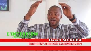 DAVID MUKEBA ASILIKI  : AZA MEMBRE YA UDPS TE NI YA RASSEMBLEMENT