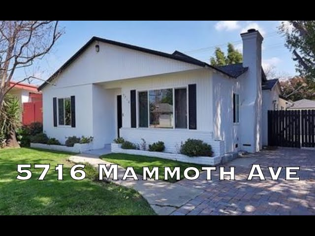 5716 Mammoth Ave, Valley Glen CA 91401