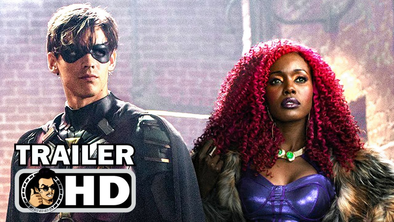 TITANS Official Teaser Trailer #2 - Dick Grayson (2018) DC Series