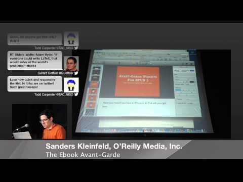Books in Browsers 2014: Sanders Kleinfeld, O'Reilly Media