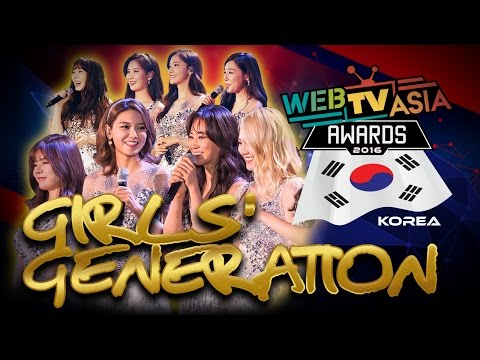WebTVAsia Awards 2016 Performance - Girls Generation (SNSD)