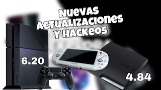 PS3 4.84, ps vita downgrade y posbible h@ck para ps4 en las ultimas versiones